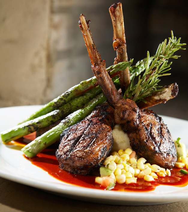 New Mexico Style Rack of Lamb